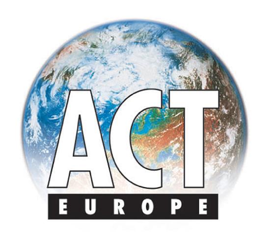 ACT Europe - corporate branding
