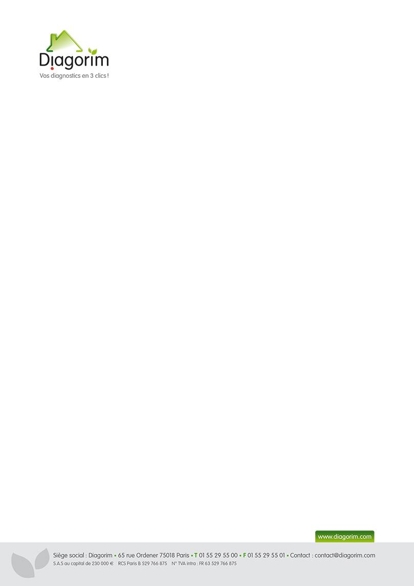 Diagorim - letterhead