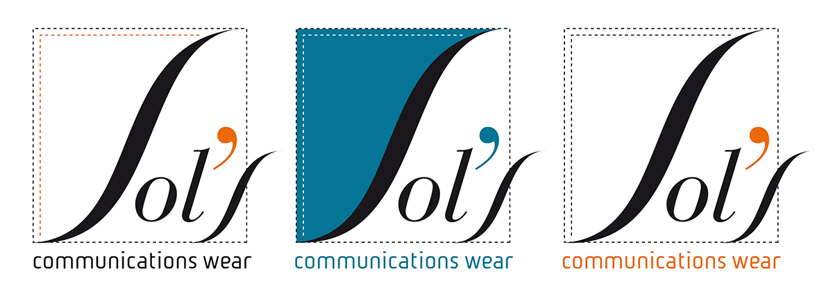 Sol's communications wear - logo proposal