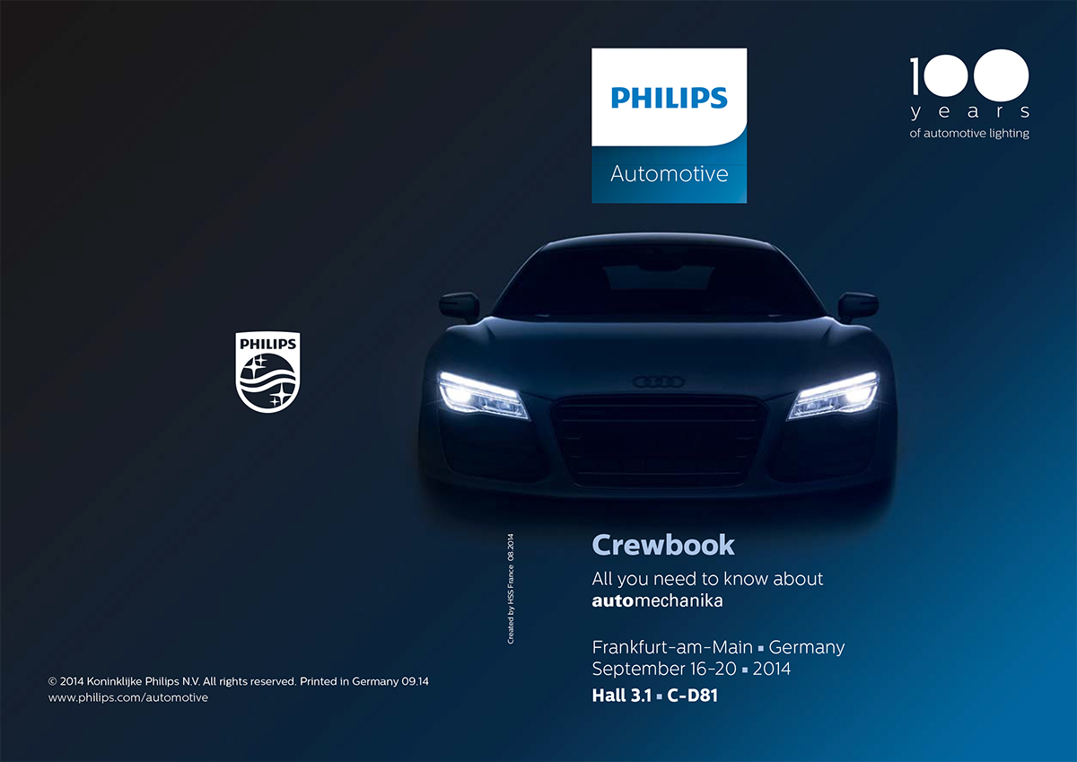 Philips Crewbook - Automechanika 2014