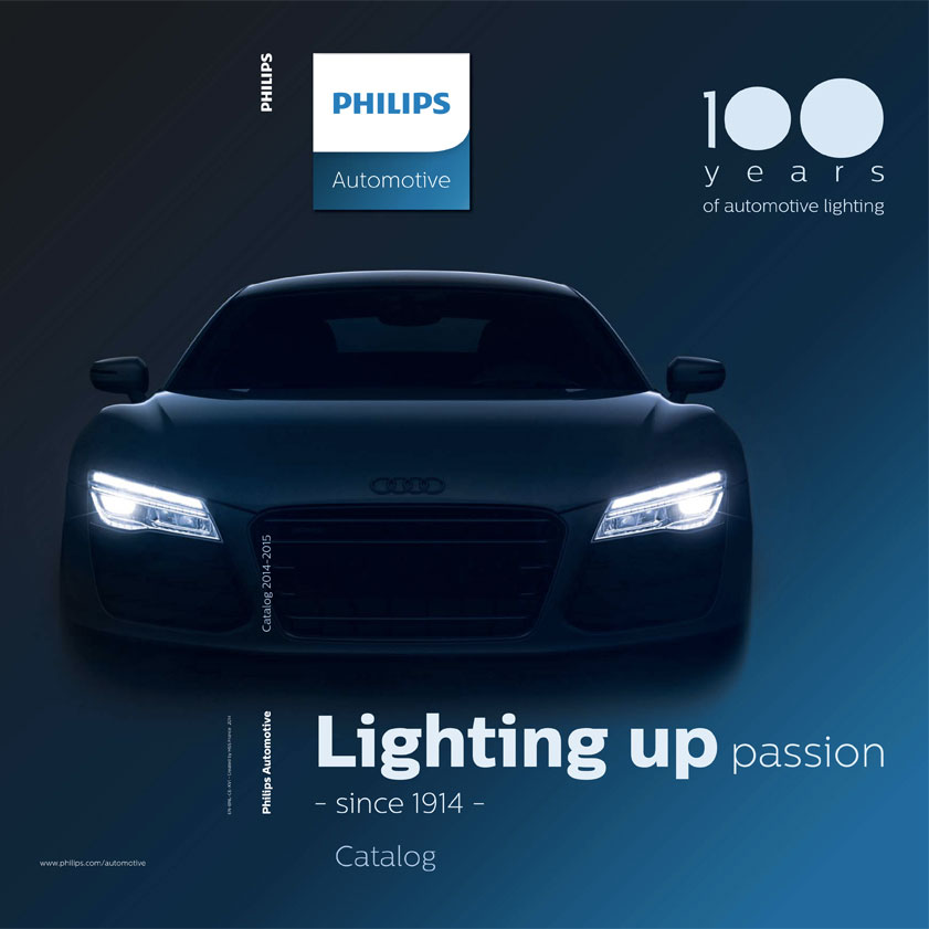 Philips automotive catalog 2014-2015