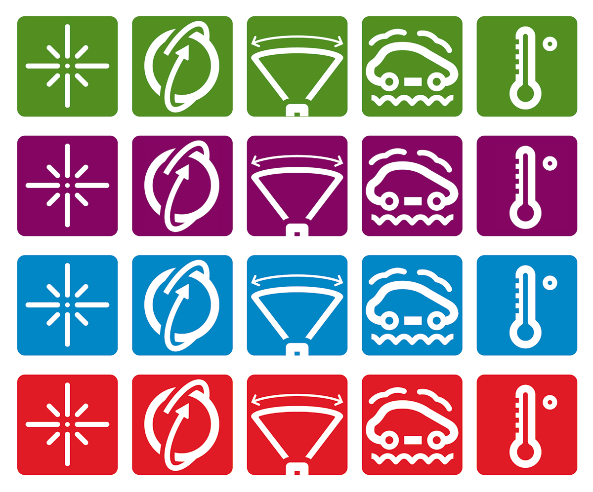 Philips LED signaling icons