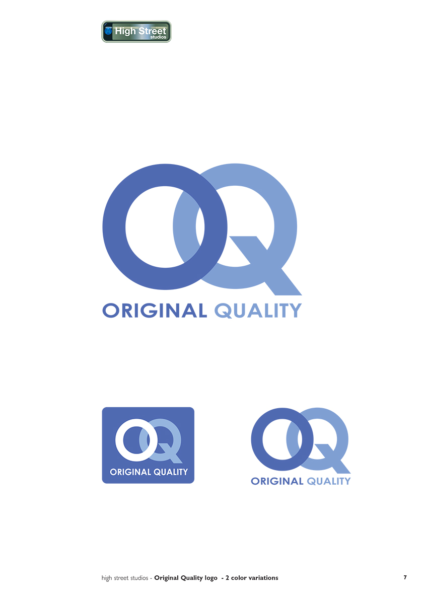 Philips Original Equipment Quality logo - research and proposal
