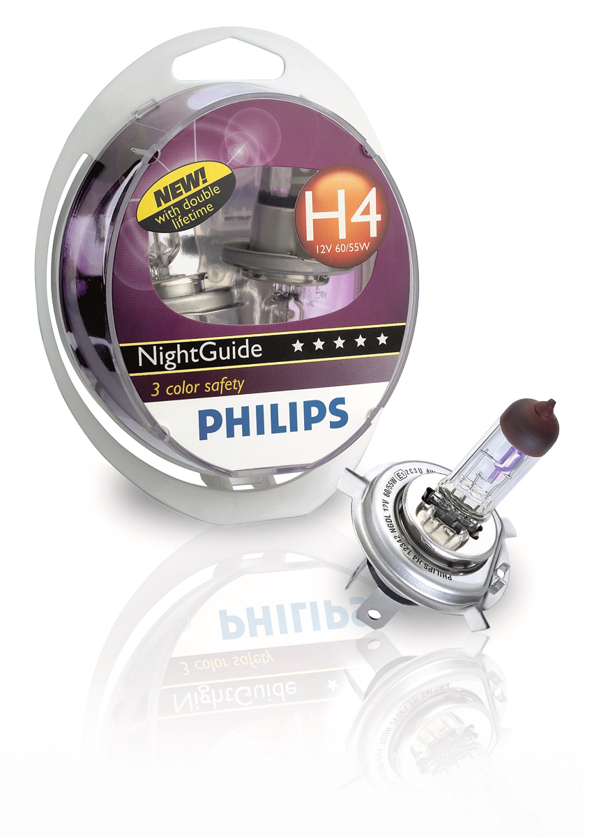Philips NightGuide halogen lighting
