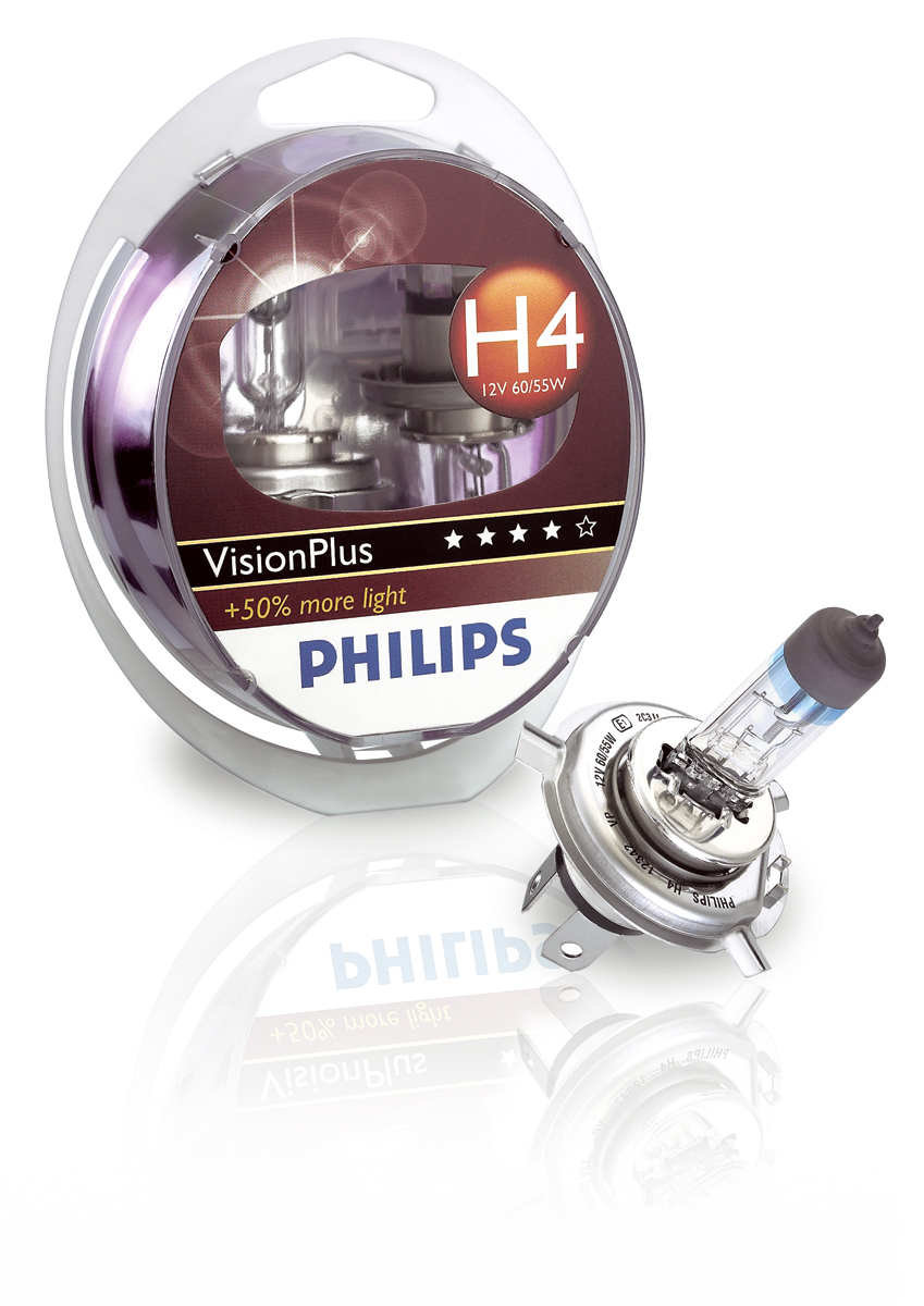 Philips VisionPlus halogen lighting