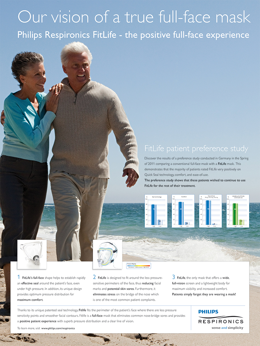 Philips Respironics - FitLife poster