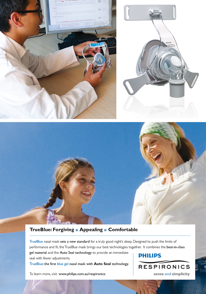 Philips Respironics TrueBlue ad - English version