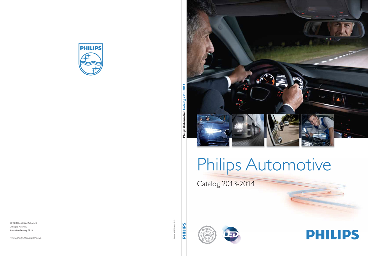 Philips automotive catalog 2013-2014