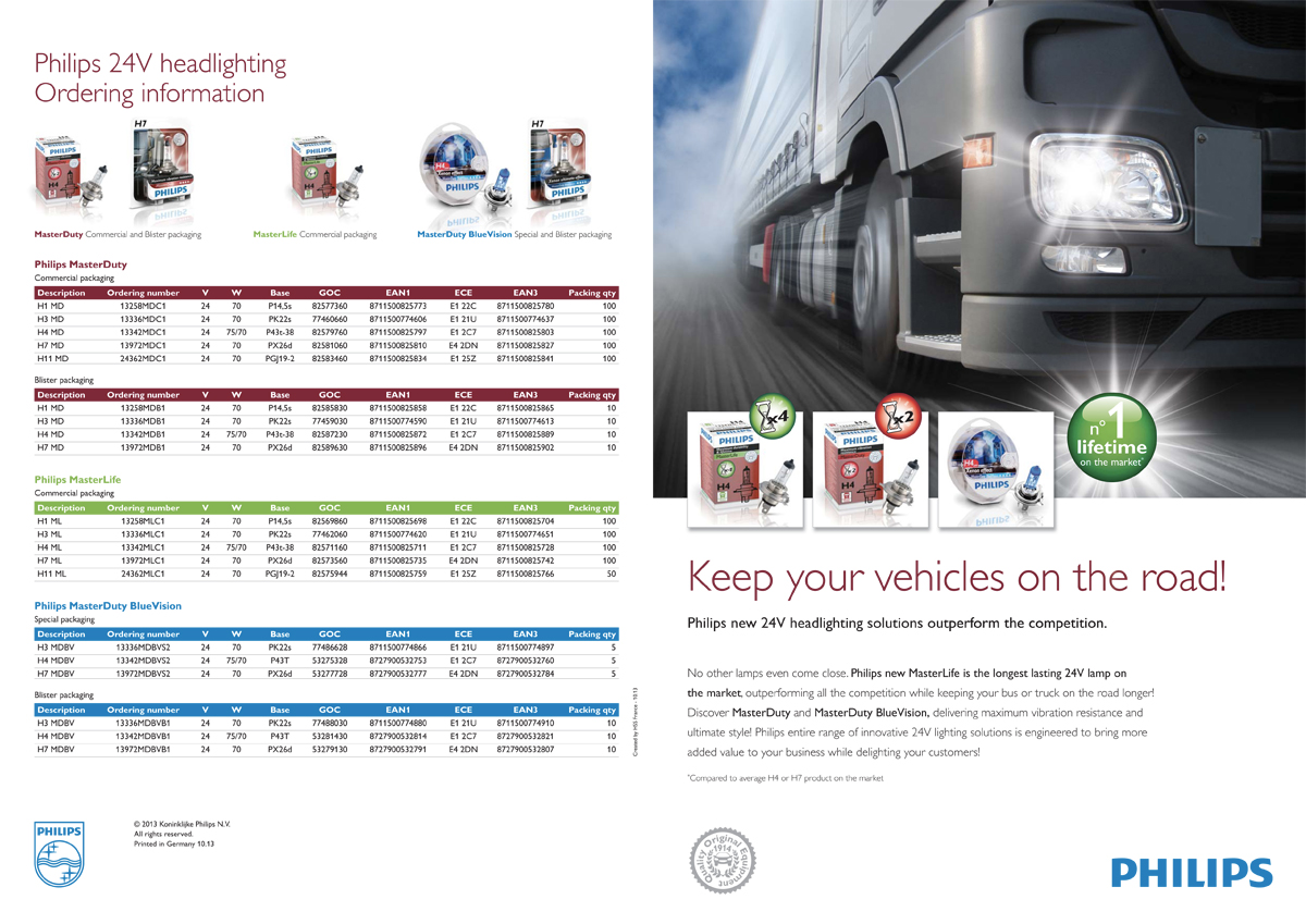 Philips halogen bus and truck lighting - full pdf