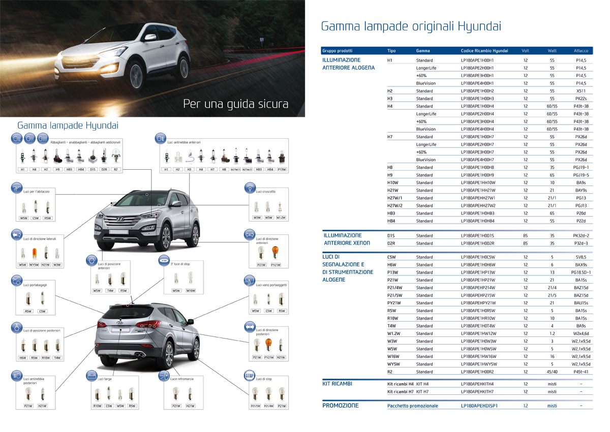 Hyundai automotive lighting brochure - inside