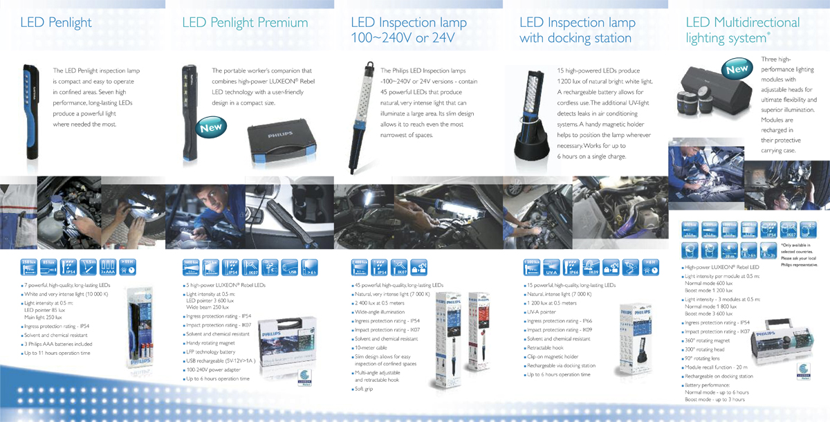 Philips automotive - product overview leaflet - inside