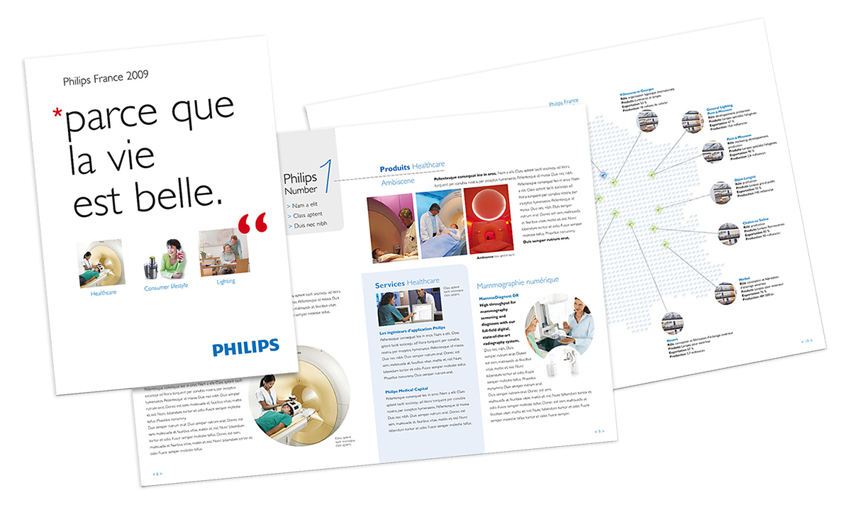 Philips Corporate - brochure proposal