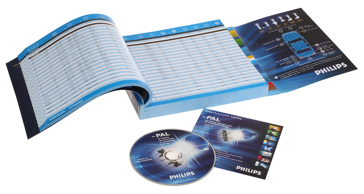 Philips automotive lighting guide (the PAL guide - print and electronic)