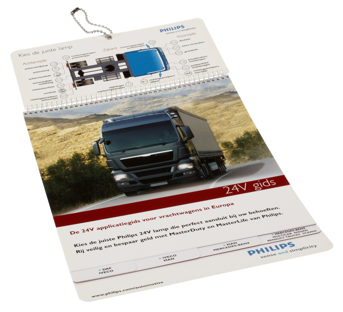 Philips 24V application guide for trucks and buses