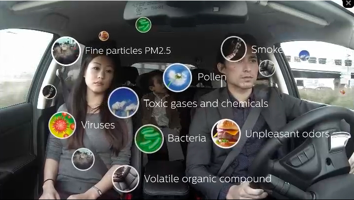 Philips GoPure air purifier for vehicles movie - English version